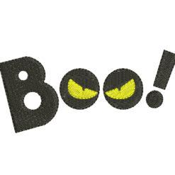 Boo Machine Embroidery Design