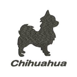Chihuahua Machine Embroidery Design