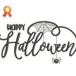 Happy Halloween Machine Embroidery Design