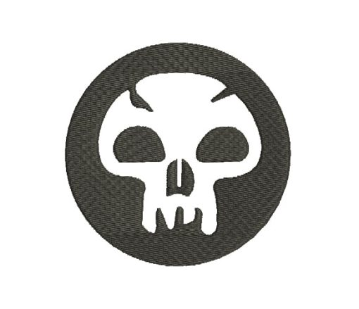 Skull Machine Embroidery Design