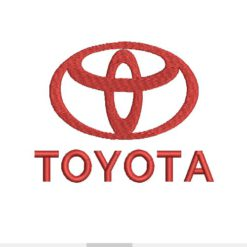 Toyota Machine Embroidery Design