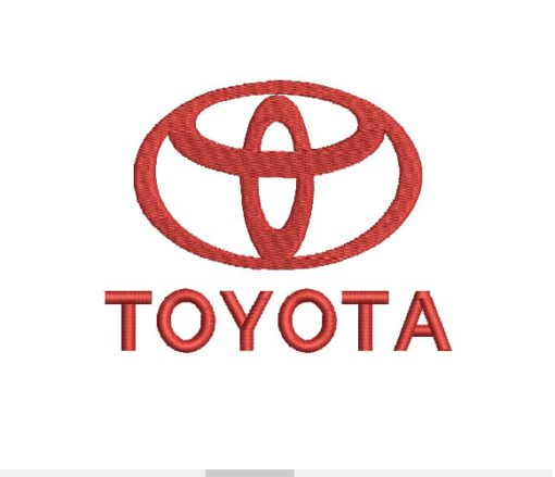 Toyota Machine Embroidery Design