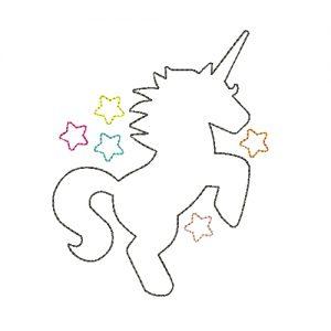 Silueta de Unicornio