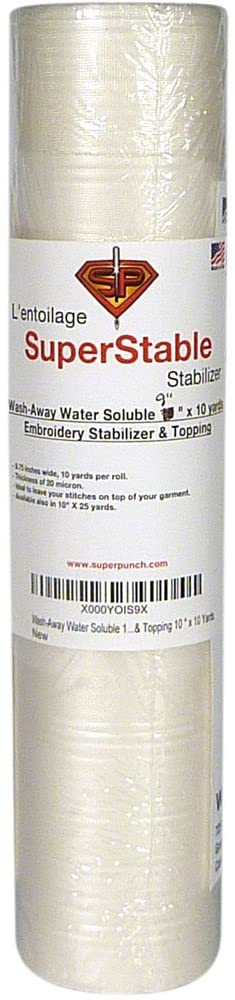 Wash-Away Water Soluble Stabilizer