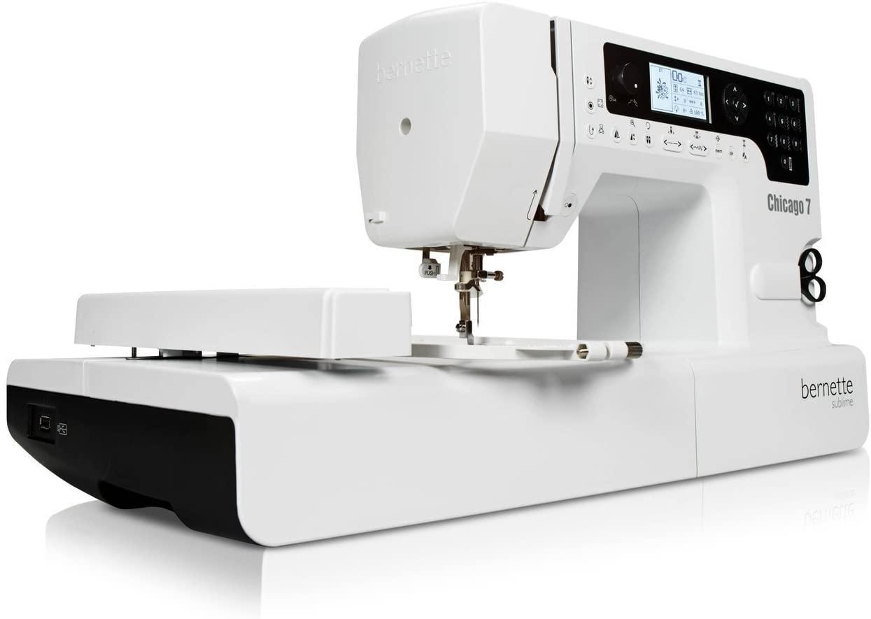 bernina chicago 7 maquina de coser y bordar