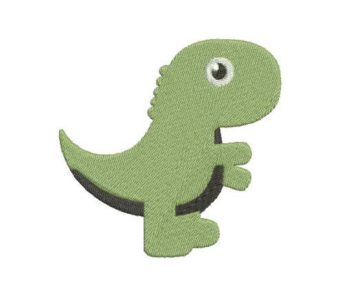 Baby Dinosaur Machine Embroidery Design