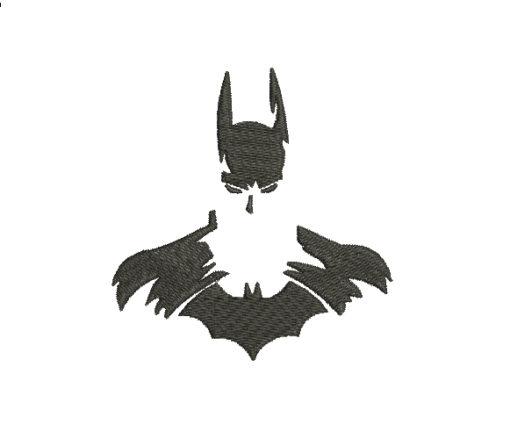 Batman Silhouette Machine Embroidery Design