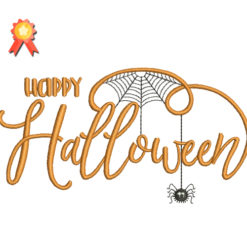 Happy Halloween 2 Machine Embroidery Design