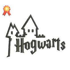 Hogwarts Machine Embroidery Design