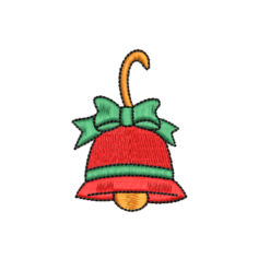 Bell Machine Embroidery Design