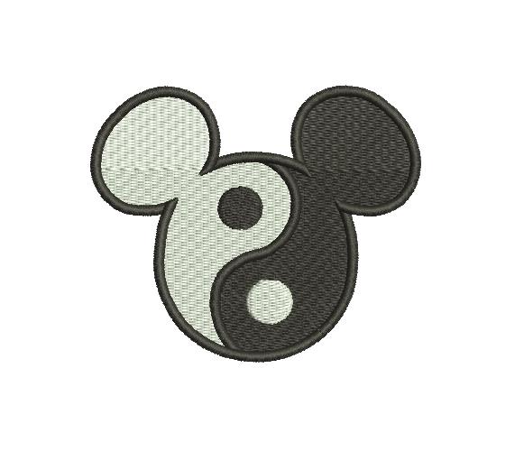 Mickey Mouse yin yang