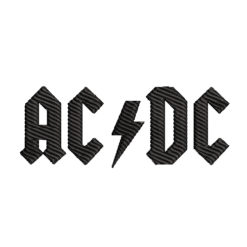 ACDC Machine Embroidery Design