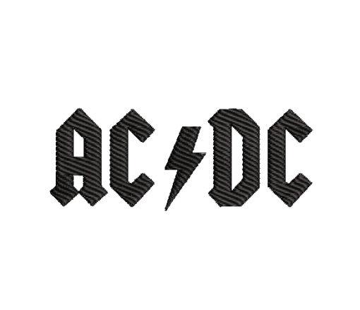 ACDC Machine Embroidery Design