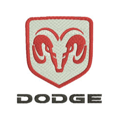 Dodge Machine Embroidery Design