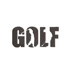 Silueta de Golf