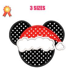 Minnie christmas Machine Embroidery Design