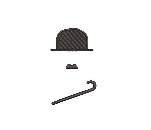 Charlie Chaplin Silhouette
