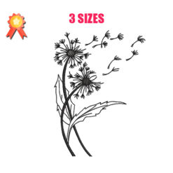 Flower Blossom Machine Embroidery Design