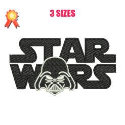 Star Wars - Darth Vader Machine Embroidery Design