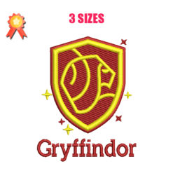 Gryffindor Machine Embroidery Design