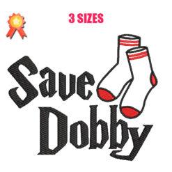 Save Dobby Machine Embroidery Design