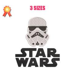 Stormtrooper - Star Wars Machine Embroidery Design