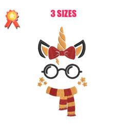Unicorn - Harry Potter Machine Embroidery Design