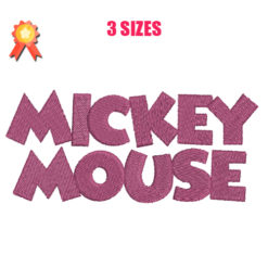 Mickey Mouse 2 Machine Embroidery Design