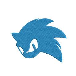 Sonic Machine Embroidery Design