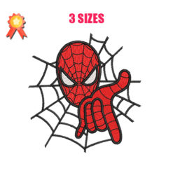 Spiderman 2 Machine Embroidery Design