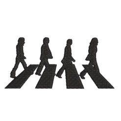 The Beatles Machine Embroidery Design