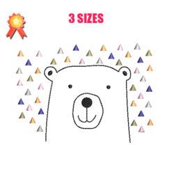 Baby Bear Machine Embroidery Design