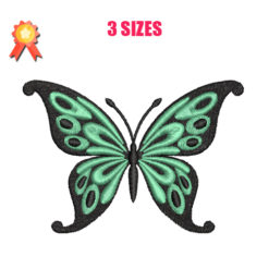 Butterfly 2 Machine Embroidery Design