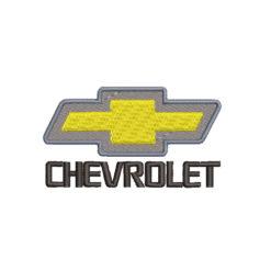 Chevrolet Logo Machine Embroidery Design