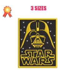 Dark Vader - Star Wars Machine Embroidery Design