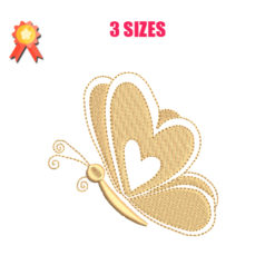 Butterfly 6 Machine Embroidery Design