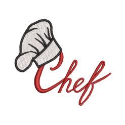 Chef 2 Machine Embroidery Design