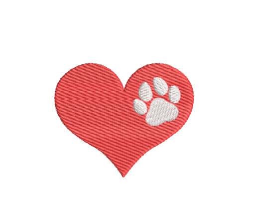 Love For The Animals Machine Embroidery Design