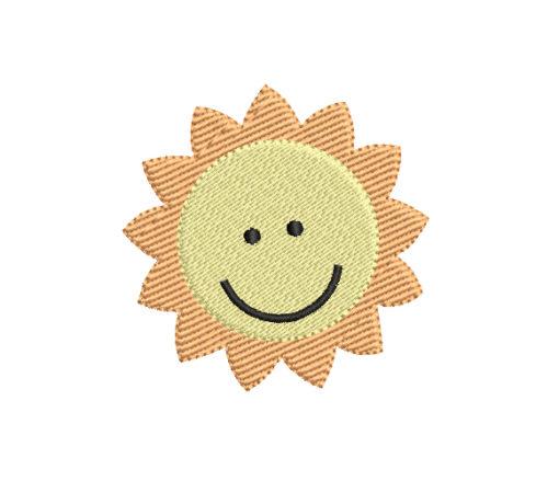 Sun Machine Embroidery Design