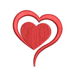 Heart 5 Machine Embroidery Design