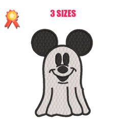 Mickey - Ghost Machine Embroidery Design