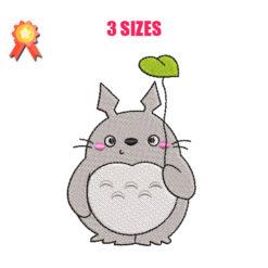 Totoro Machine Embroidery Design
