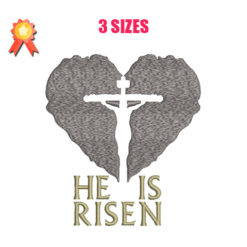 He Is Risen Machine Embroidery Design