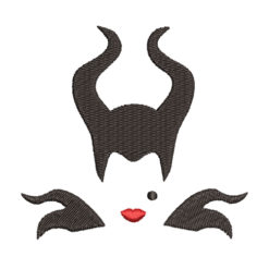 Maleficent From Sleeping Beauty Machine Embroidery Design