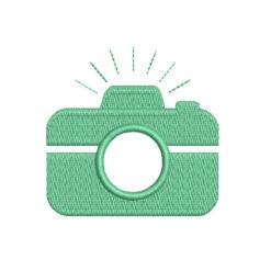 Mini Camera Machine Embroidery Design